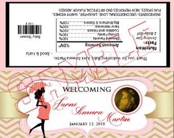 Custom Full Size Candy Bar Wrappers - Digital Download ***Customized for You*** FOR ANY EVENT