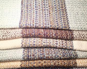 Handwoven Cotton Kitchen Towels