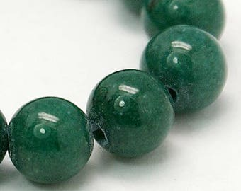 "Green Mashan Jade Beads 4∼10mm Strand 15.5""-38cm Green Candy Jade Green Mountain Jade Green Jade Green Mashan Stone"