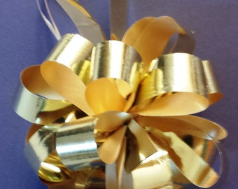 """Pull Bow Ribbon - 5"""" - Available in a variety of colors- SALE PRICE"""