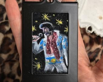Mini Velvet Elvis Painting