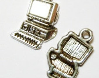 10 Computer Charms (double sided) 17.5x12mm ITEM:Y9
