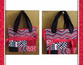 Expandable Library Tote Bag