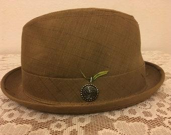 Vintage Boho Fedora Hat