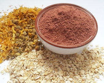 Egyptian Pink Clay Face Mask, Lifting, Moisturising, Natural Face Mask, Pink Clay, Kaolin Clay, Oily skin, Sensitive skin, Dry skin