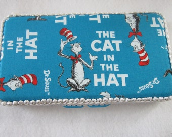 Dr. Seuss Cat in the Hat wipes case