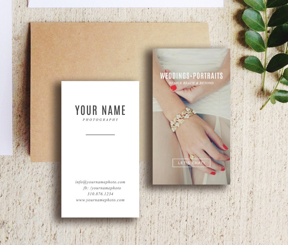 Photography Templates Wedding Photography Business Card