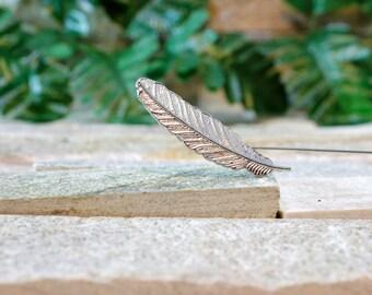 CLEARANCE 50% OFF! Leaf Lapel Pin. Lapel Pin. Mens Lapel Pin.