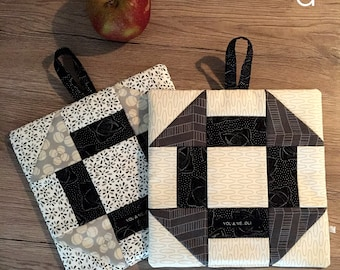 a pair of potholders