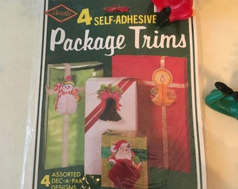 Vintage Beistle Package Trims For Christmas