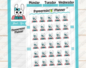 Jellybean Tired of Studying or Working --- Planner Stickers --- Hand Drawn Stickers --- 26