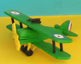 Royal Aircraft Factory S.E.5a Toy Airplane