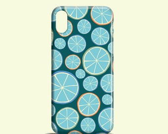 Funky oranges phone case / fun iPhone X / iPhone 8, iPhone 7, iPhone 7 Plus, iPhone 6, iPhone 5/5S, iPhone Se, Samsung Galaxy S6 / Galaxy S5