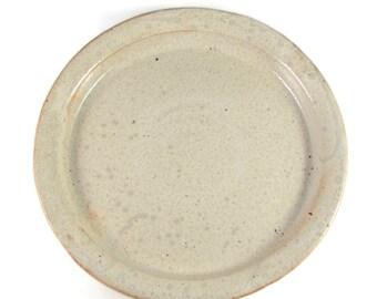 Ceramic Platter - Stoneware Dinnerware - Handmade Dish - Wheel Thrown Clay Pottery - Ready to Ship