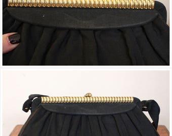 1940s Handbag // Light Evening Handbag // vintage 40s purse