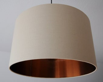 "Lampshade ""Sand-Copper"""