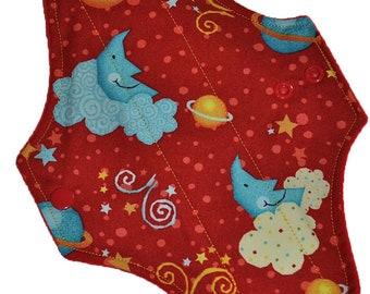 Moderate Core- Sweet Dreams Reusable Cloth Maxi Pad- WindPro Fleece- 10 Inches (25.5 cm)
