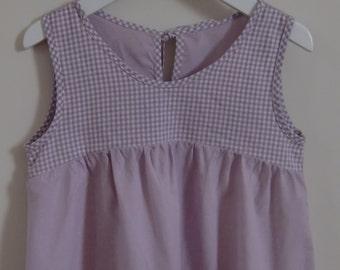 Blejennyk Curved Yoke Tunic Girls PDF Sewing Pattern age 2 to 7 years