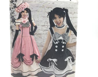 Simplicity D0503 Womens Anime Costume Cosplay Skirt Corset Petticoat Size 6 14 Uncut Sewing Pattern