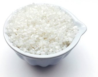 White Pearlised Sugar Crystals Sparkling Cake Decoration Suitable for Vegans Halal Kosher Gluten Dairy Free Mixed Baking Gifts Active