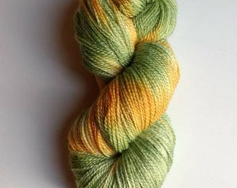 Adventurer, hand dyed sock yarn