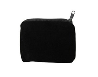 WholesaleGemShop Black Velvet Pouch with Free Shipping