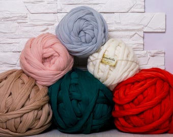 Merino Wool, Chunky yarn, Roving, Arm Knitting, Wool yarn, Super chunky yarn, Bulky yarn, Yarn, Arm Knit, Roving wool
