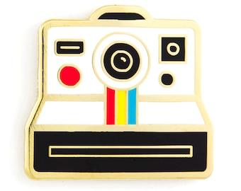 Polaroid Camera Enamel Pin