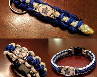 Chicago PD Paracord Bracelet or keychain