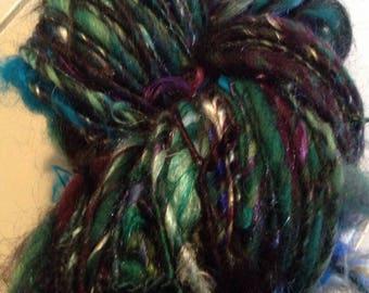 Jewel Tone Bulky One Ply Art Yarn
