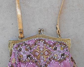 Vintage Beaded Christiani Evening Bag
