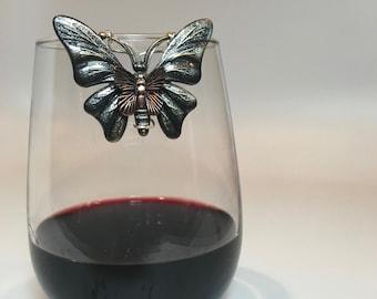 Butterfly Wine Glass Marker