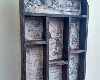 Alice Croquet Cabinet of curiosities