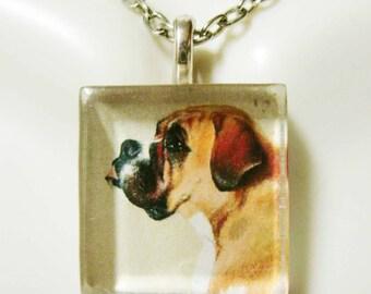 Boxer pendant and chain - DGP01-202