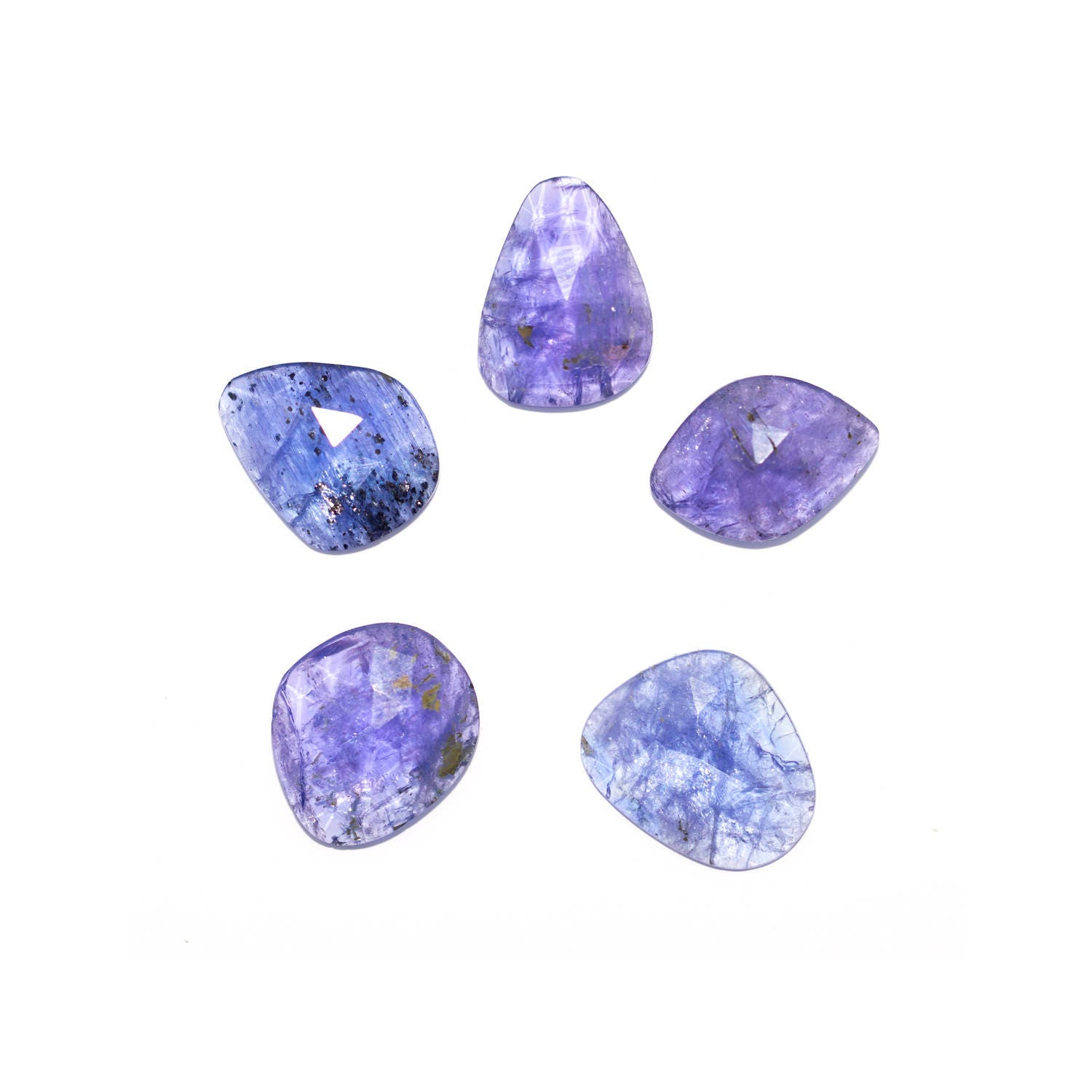 mm natural shape pin cut certified tanzanite carat heart stone