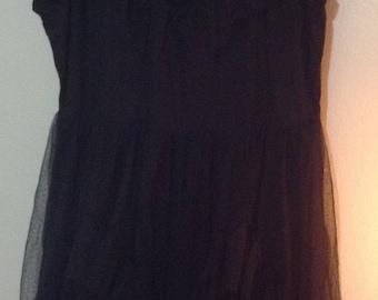 plus size gothic dress
