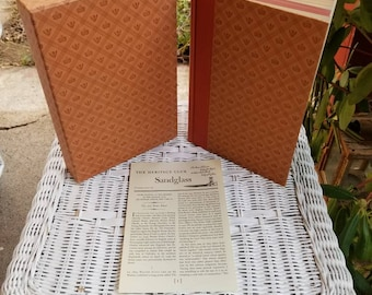 Waverley Or 'Tis Sixty Years Since by Sir Walter Scott, Vintage Hardcover Book with Slipcase, The Heritage Press 1961, RascalsRarities