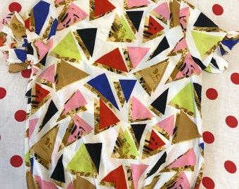 Patterned vintage blouse