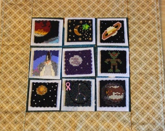 Bead-It-Forward Space Themed Quilt BIF06