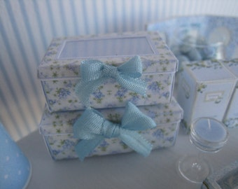 Dollhouse FLoral Storage Boxes