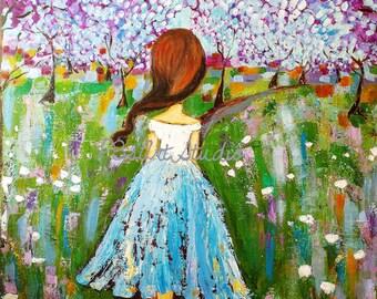 Field of Dreams- CANVAS PRINT