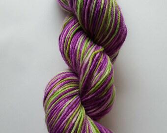 Hand Dyed Yarn 75/25% Superwash Wool/Nylon DK Weight
