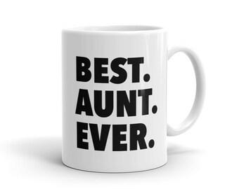 Best Aunt Ever Mug, New Aunt Mug, Aunt to Be Mug, Reveal Mug, New Aunt Gift, Aunt Birthday Gift New Aunt Gift Aunt to be Gift for Aunt #1066