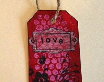 Handmade Tag & Bookmark # 5