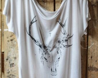 Ecological T-shirt Eternity Skull