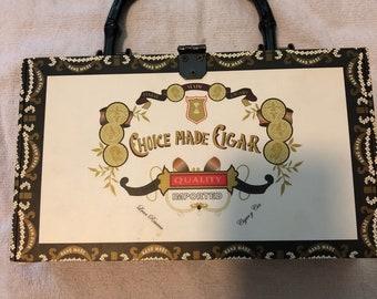 Fun Cigar Box Purse