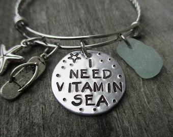 I Need Vitamin Sea-Bracelet