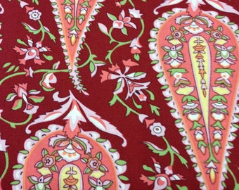 Amy Butler Love Collection Cypress Paisley for Westminster Fabrics AB47 Color Wine Yardage Available