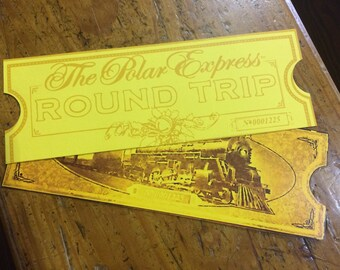Polar Express Printable Tickets