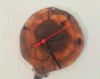 Walnut Wall Clock